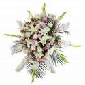 Lágrima con Gladiolos y Flores Recuerdos Rosatel