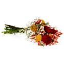 Ramo con Rosas Rojas y Flores Recuerdos Rosatel